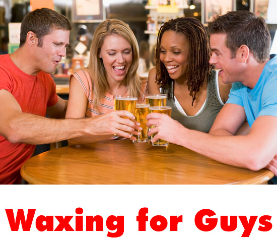 Waxing for Guys